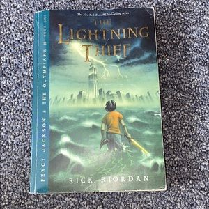 The lightening thief book